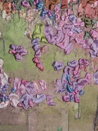 Arbre mauve det red jacqueline fischer art textile