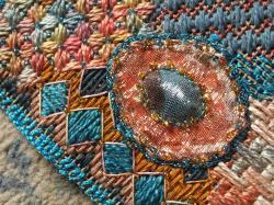 Art textile enluminures 2 detail jacqueline fischer