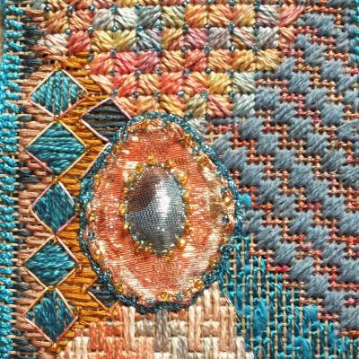 Art textile enluminures 2 jacqueline fischer
