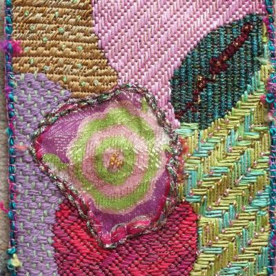 Art textile enluminures 3 jacqueline fischer