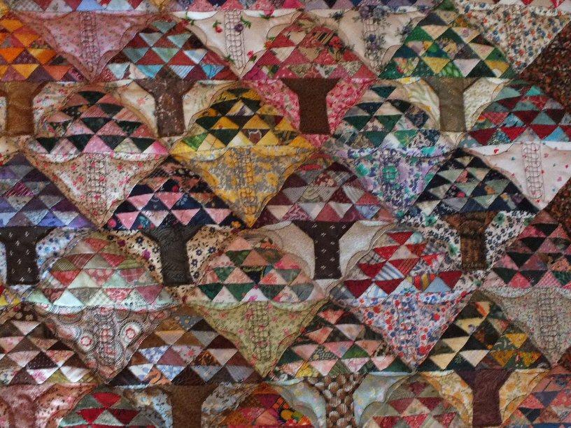 Bonsais red jacqueline fischer art textile