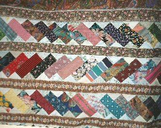 Briques empilees detail red jacqueline fischer art textile 001
