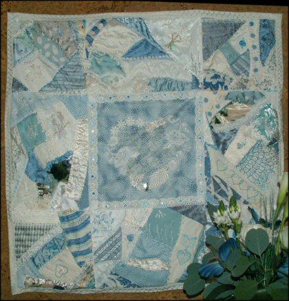 Celebration art textile jacqueline fischer red 3