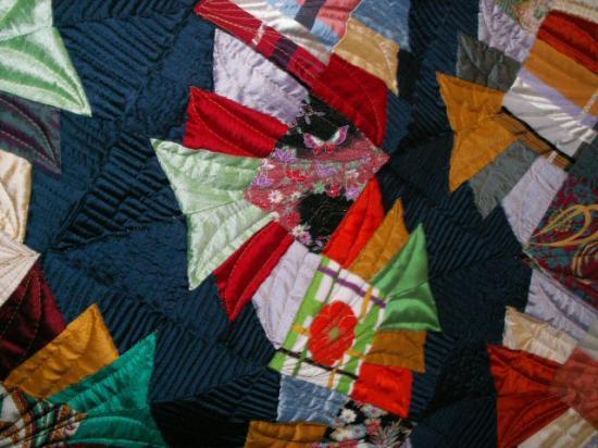 Chemins vera soie detail red jacqueline fischer art textile 2013 4