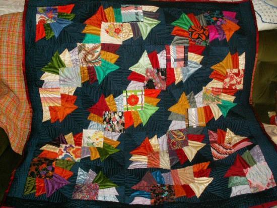 Chemins vera soie jacqueline fischer art textile red 2013 2