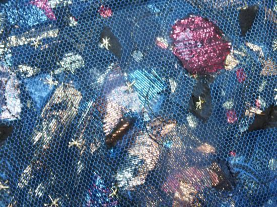 Ciel portatif red det jacqueline fischer art textile
