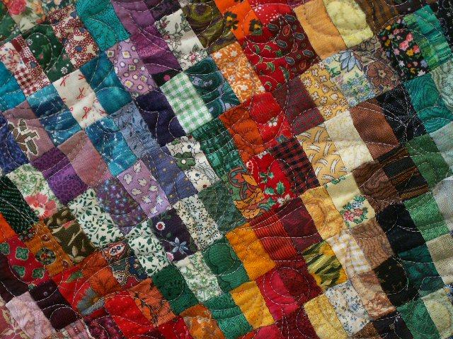 Colorado deta art textile jacqueline fischer red