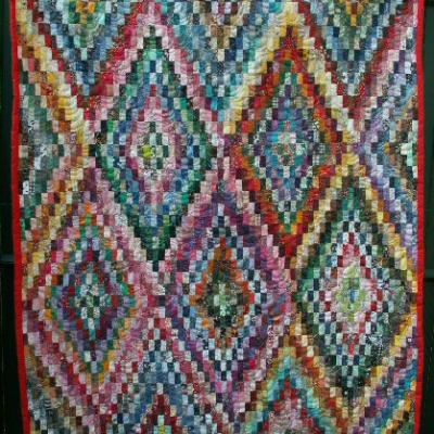 Colorado jacqueline fischer art textile red