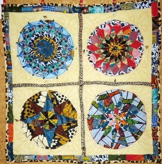 Compas de linvingstone art textile jacqueline fischer