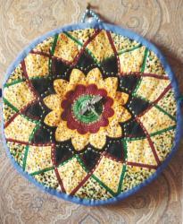 Dahlia 2ex talism anne jacqueline fischer art textile 001