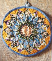 Dahlia talism ane jacqueline fis her art textile