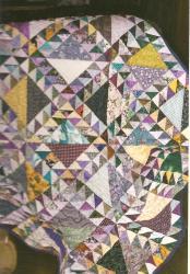 Dame du lac 1 jacqueline fischer art textile
