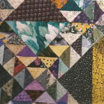Dame du lac e fet jacqueline fischer art textile 1