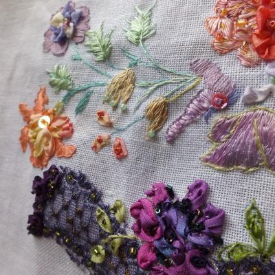 Elegance 2 art textile jacqueline fischer det