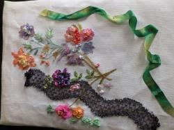 Elegance 2 art textile jacqueline fischer