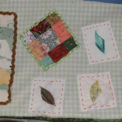 En vert et avec tout livre textiles d essais et d abandons jacqueline fischer 2