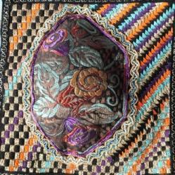Enluminure 12 art txtile jacqueline fischerred
