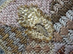 Enluminures 1 art textile jacqueline fischer detail