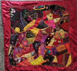 Flamenco crazy quiltred