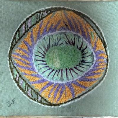 Fruit d une passion art textile jacqueline fischer