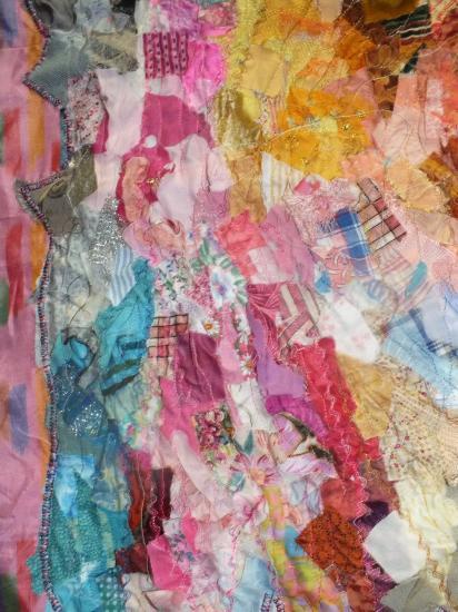 Insouciance art textile jacqueline fischer