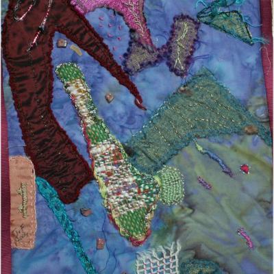 Jacquelie fischer la main du diable art textile