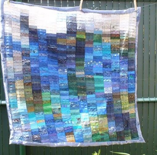 Jacqueline fischer au fil de l eau art textile