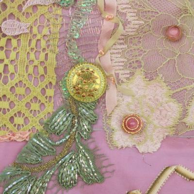 Keepsake livre textile jacqueline fscher 1