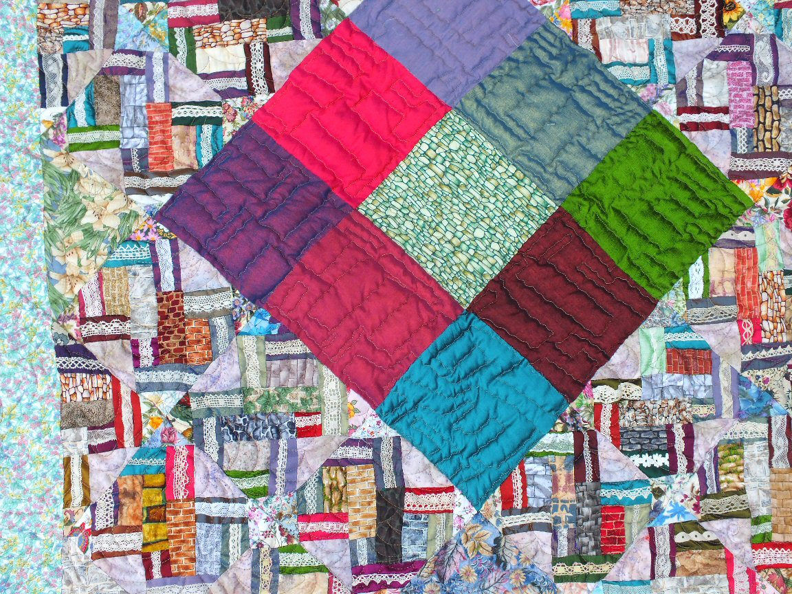 Laiise les murs detail art textile jacqueline fischer