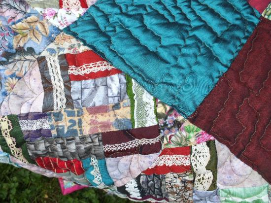 Laisse les murs jacqueline fischer art textile