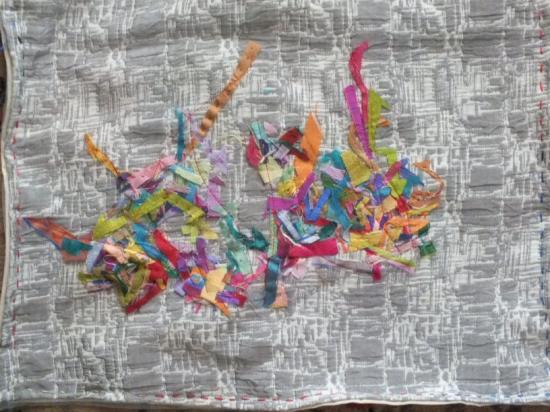 Les beaux restes 3 jacqueline fischeredr art textile 2