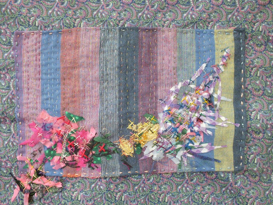 Les beaux restes 4 jacqueline fischer art textile