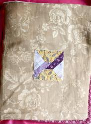 Lucette et jacqueline quatrieme de couvertiue jacqueline fischer art textile