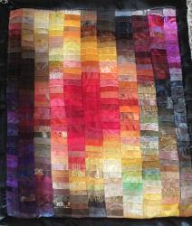 Lumiere violente javqueline ficher art textile 1