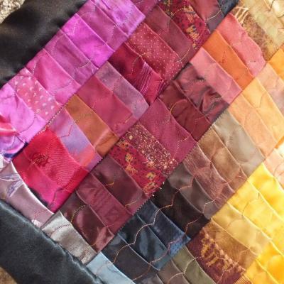 Lumiere violente javqueline ficher art textile 2