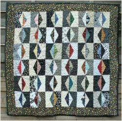 Nuit et jour art textile jacqueline fischer