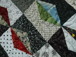 Nuit et jour detail art textile jacqueline fischer