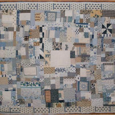 Old love is gold love jacqueline foscher art textile quilt 2