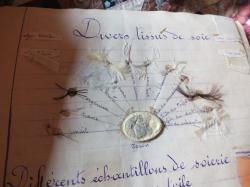 Page 3 a divers tissus de soie schema avec matieres