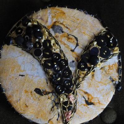 Ronds dans l o jacqueline fischer art textile 2 1