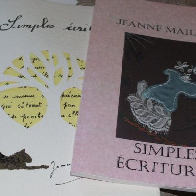 Simples ecritures jeanne maillet ilulstrations jacqueline fischer