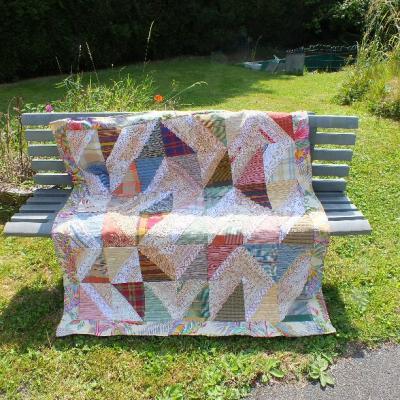 Un dimanche a la campagne jacqueline fischer art textile