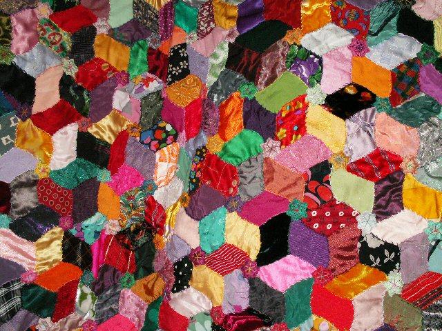 Uun avenir radieux red det jcqueline fischer art textile